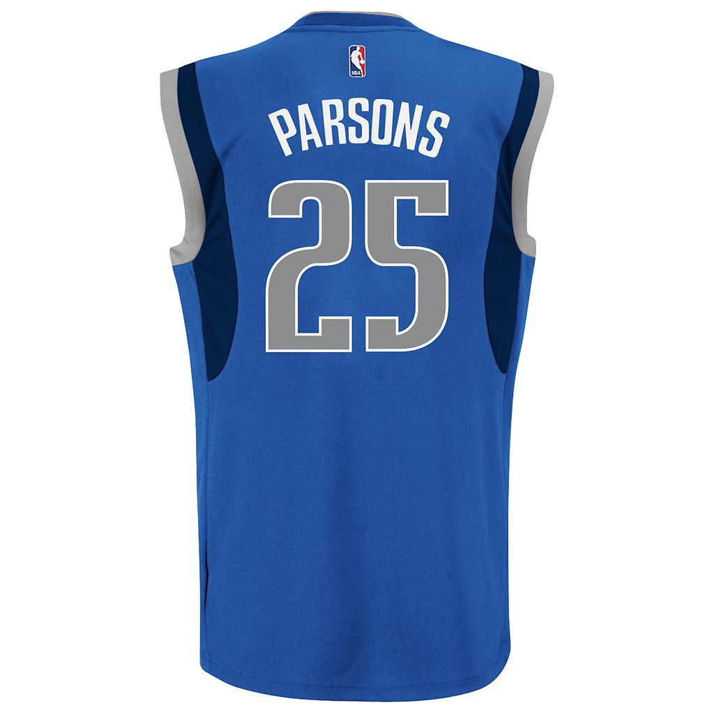 adidas Men's Dallas Mavericks Chandler Parsons Replica Jersey