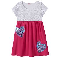 Design 365 Toddler Girl Crochet Lace Dress