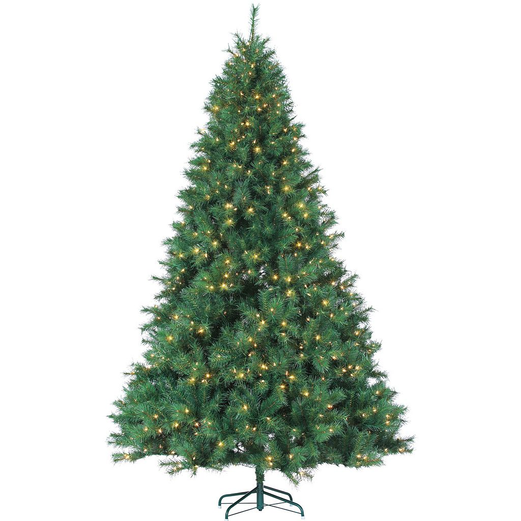 Sterling 9' Hard/Mixed Needle Wisconsin Spruce Artificial Christmas Tree