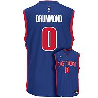 Men's adidas Detroit Pistons Andre Drummond NBA Replica Jersey