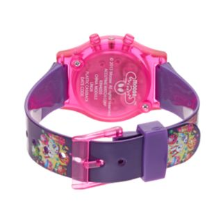 Shopkins Strawberry Kiss, D'Lish Donut, Kooky Cookie & Apple Blossom Girls' Digital Light-Up Watch