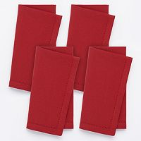 Food Network™ Hemstitch Napkins - 4 pk.