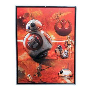 Star Wars: Episode VII The Force Awakens BB-8 Tin Sign