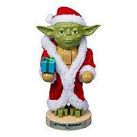 Star Wars Yoda in Santa Robe Nutcracker