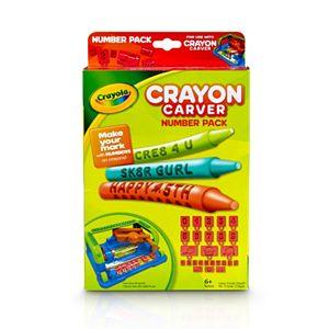 Crayola Crayon Carver Number Pack