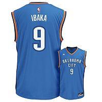 Men's adidas Oklahoma City Thunder Serge Ibaka Replica Jersey