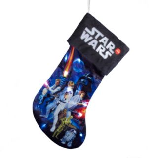 Star Wars Battery-Operated Light-Up Stocking
