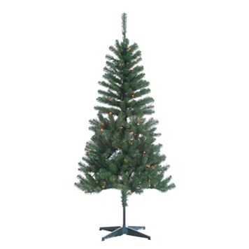 Sterling 7' Cumberland Pine Multi-Colored Artificial Christmas Tree