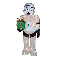 Star Wars Stormtrooper 28-in. Light-Up Tinsel Lawn Decor