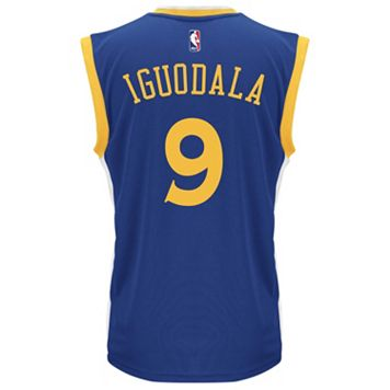 adidas Men's Golden State Warriors Andre Iguodala Replica Jersey