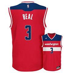 adidas Men's Washington Wizards Bradley Beal Replica Jersey