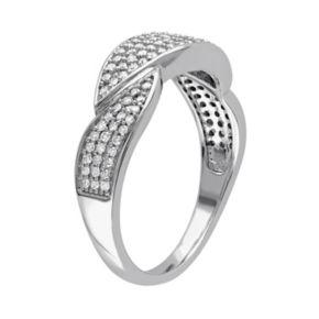 1/3 Carat T.W. Diamond 10k White Gold Marquise Ring