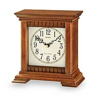 Seiko Wooden Table Clock - QXJ028BLH