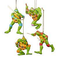 Teenage Mutant Ninja Turtles 4-Piece Ornament Set