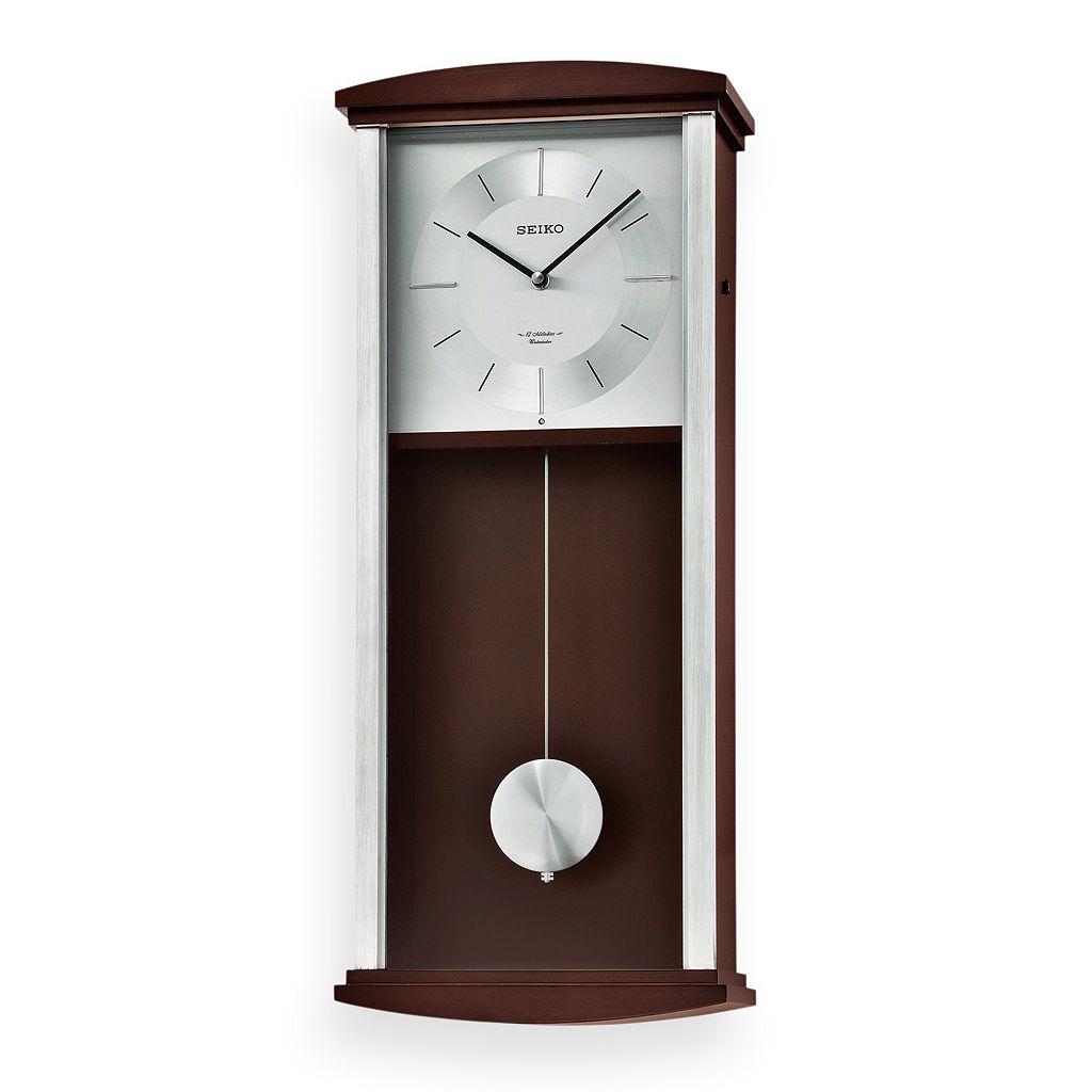 Seiko Contemporary Classics Wood Musical Pendulum Wall Clock - QXM555BLH