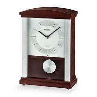 Seiko Contemporary Classics Wood Musical Pendulum Mantel Clock - QXW440BLH