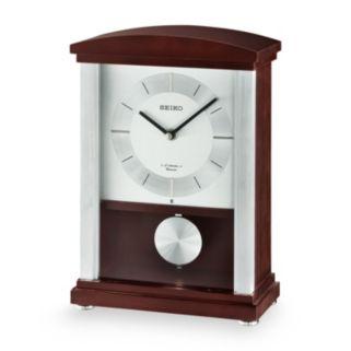 Seiko Contemporary Classics Wood Musical Pendulum Mantel Clock - QXW440BLH