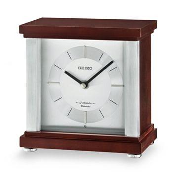 Seiko Contemporary Classics Wood Musical Table Clock - QXW441BLH