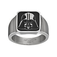 Star Wars Men's Darth Vader Stainless Steel Ring