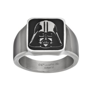 Star Wars Men's Darth Vader Stainless Steel Ring