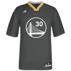 adidas Men's Golden State Warriors Stephen Curry Replica Jersey
