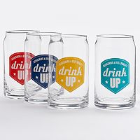 Food Network™ 4 pc Glass Can Set