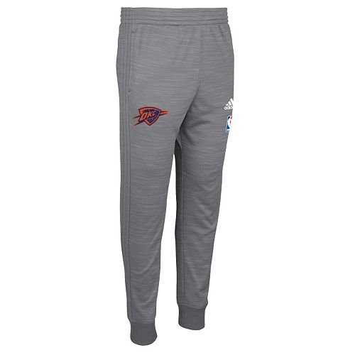 Men's adidas Oklahoma City Thunder On-Court Warm Up Pants