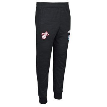 Men's adidas Miami Heat On-Court Warm Up Pants