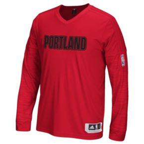 Men's adidas Portland Trail Blazers On Court Tee