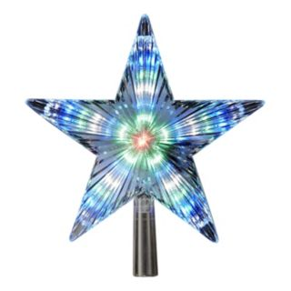 8.5-Inch Color-Changing LED Star Tree Topper