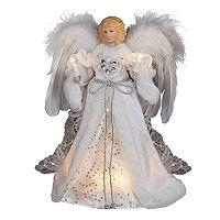 12-Inch Elegant Angel Tree Topper