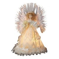 14-Inch Fiber Optic Angel Tree Topper