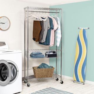 Honey-Can-Do Rolling Laundry Station