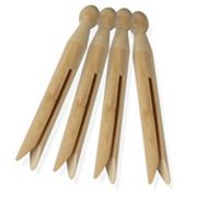 Honey-Can-Do 100 pkWood Clothespins