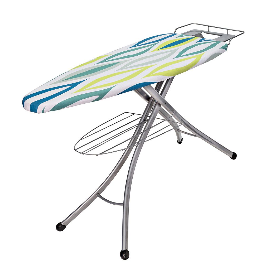 Honey-Can-Do 18'' x 48'' Ironing Board with Rest and Shelf