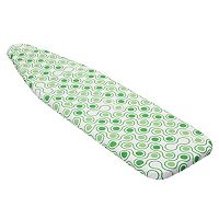 Honey-Can-Do Green Dots Superior Ironing Board Cover