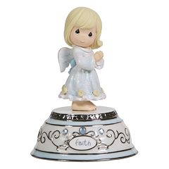 Precious Moments Faith Angel Musical Figurine