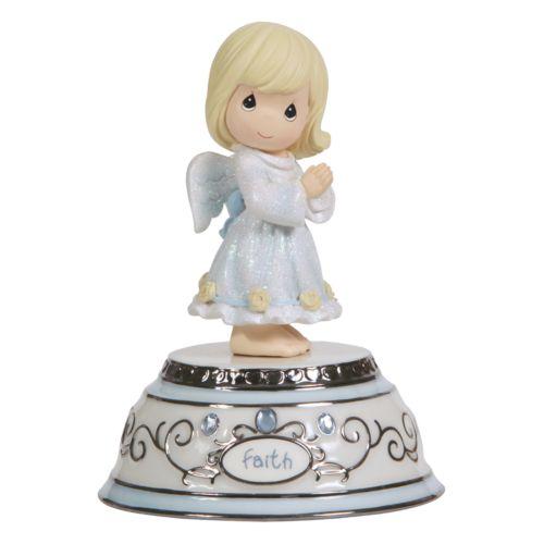 Precious Moments Faith Angel Musical Figurine