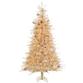 Sterling 7' Buttercrem Frosted Hard Needle Artificial Christmas Tree