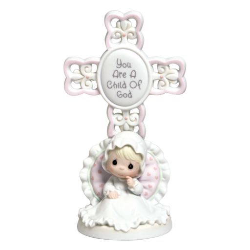 Precious Moments ''You Are A Child Of God'' Girl Christening Figurine