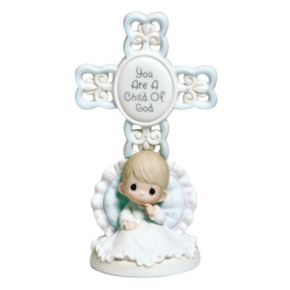 Precious Moments ''You Are A Child Of God'' Boy Christening Figurine