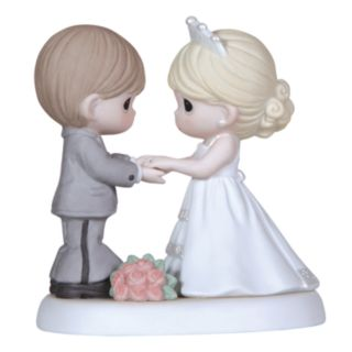 Precious Moments ''From This Day Forward'' Wedding Couple Holding Hands Figurine