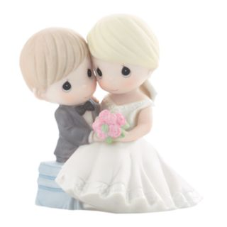 Precious Moments ''Forevermore'' Seated Couple With Bouquet Figurine
