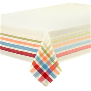 Fiesta Plaid Tablecloth