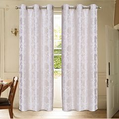 Laura Ashley 2-pack Renee Window Curtains - 38'' x 84''