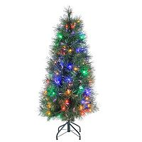 Sterling 4' Multi-Colored LED Fiber Optic Artificial Christmas Tree