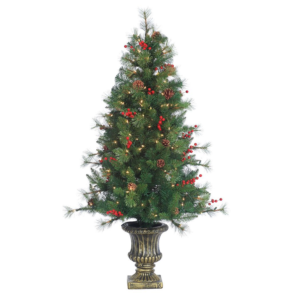 Sterling 4.5' Potted Alberta Spruce Artificial Christmas Tree