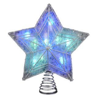 LED Color-Changing 12-Inch Star Tree Topper