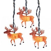 10-Light Reindeer String Lights