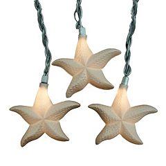 10-Light Starfish String Lights